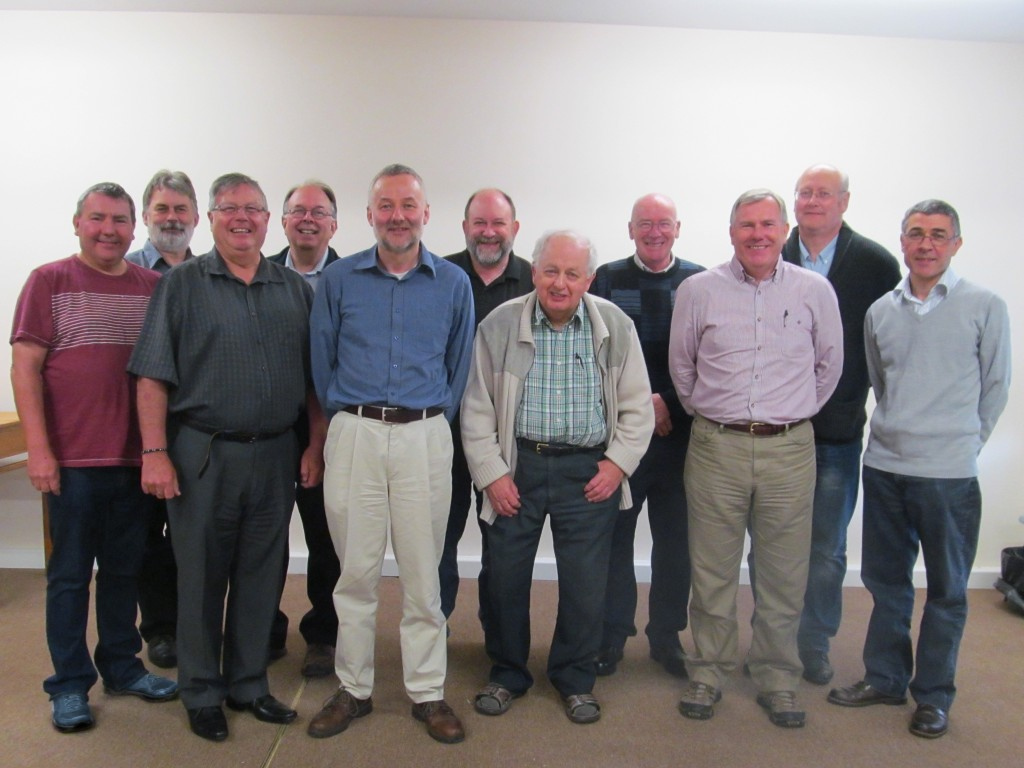 Most of the British Bible School governing body September 2014