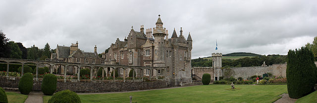 Abbotsford House, near Melrose