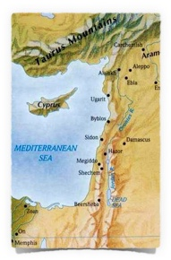 Byblos map