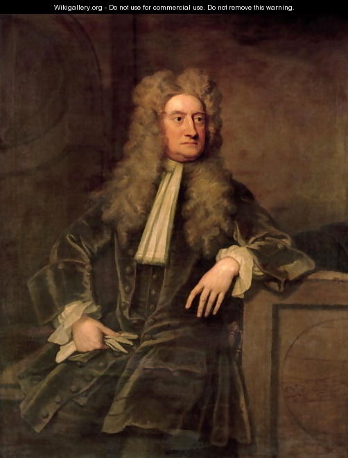 Sir Isaac Newton - inventor of gravity?