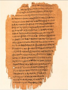 Papyrus p.47 - and early witness to the text of Revelation