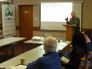 Ian Starrs presenting a session at the recent Study Weekend