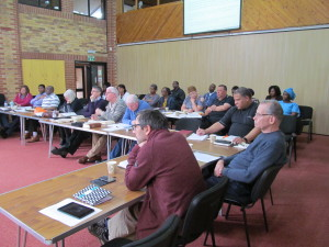 Students in Northampton during one of our Study Weekends on Hebrews
