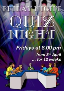 Poster for Quiz night 300