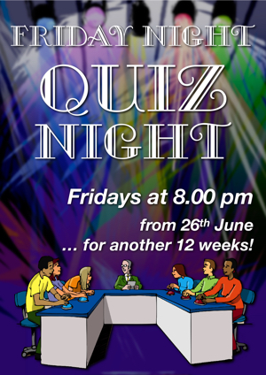 Poster for Quiz night 2 300