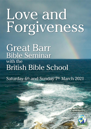 Love and Forgiveness at Great Barr poster 300
